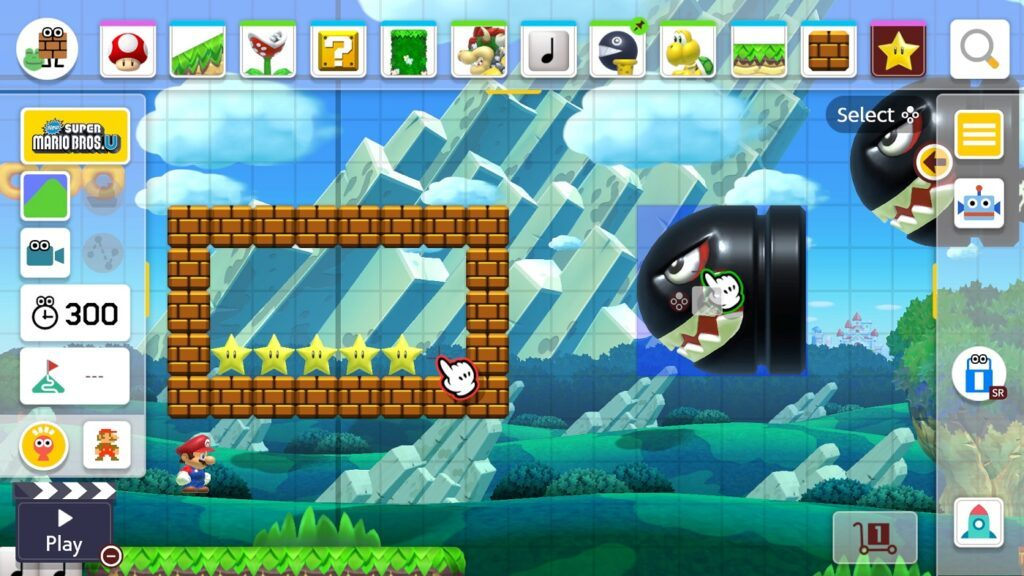 Nintendo Switch Super Mario Maker 2 3d-World