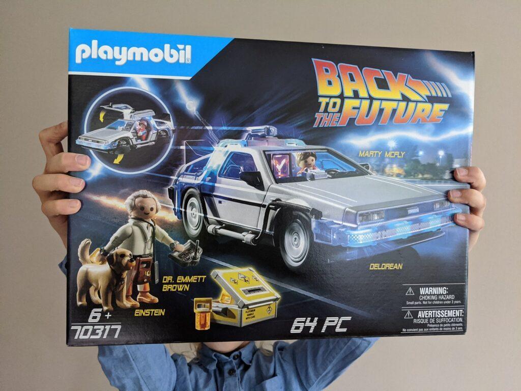 playmobil DeLorean Packshot