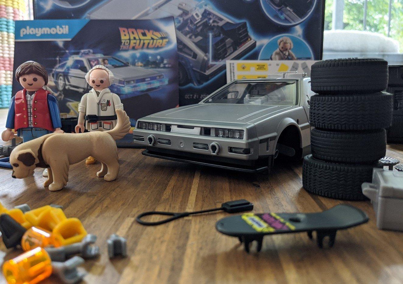 playmobil DeLorean DMC 12