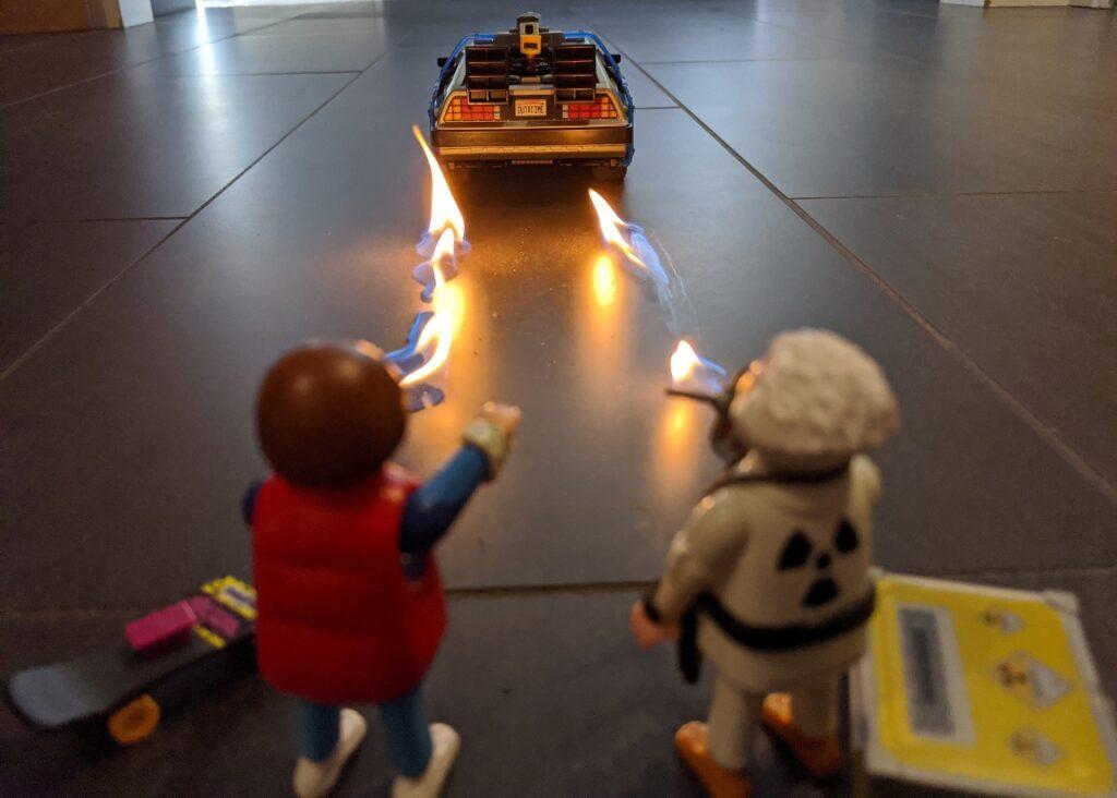 playmobil DeLorean Zeitmaschine
