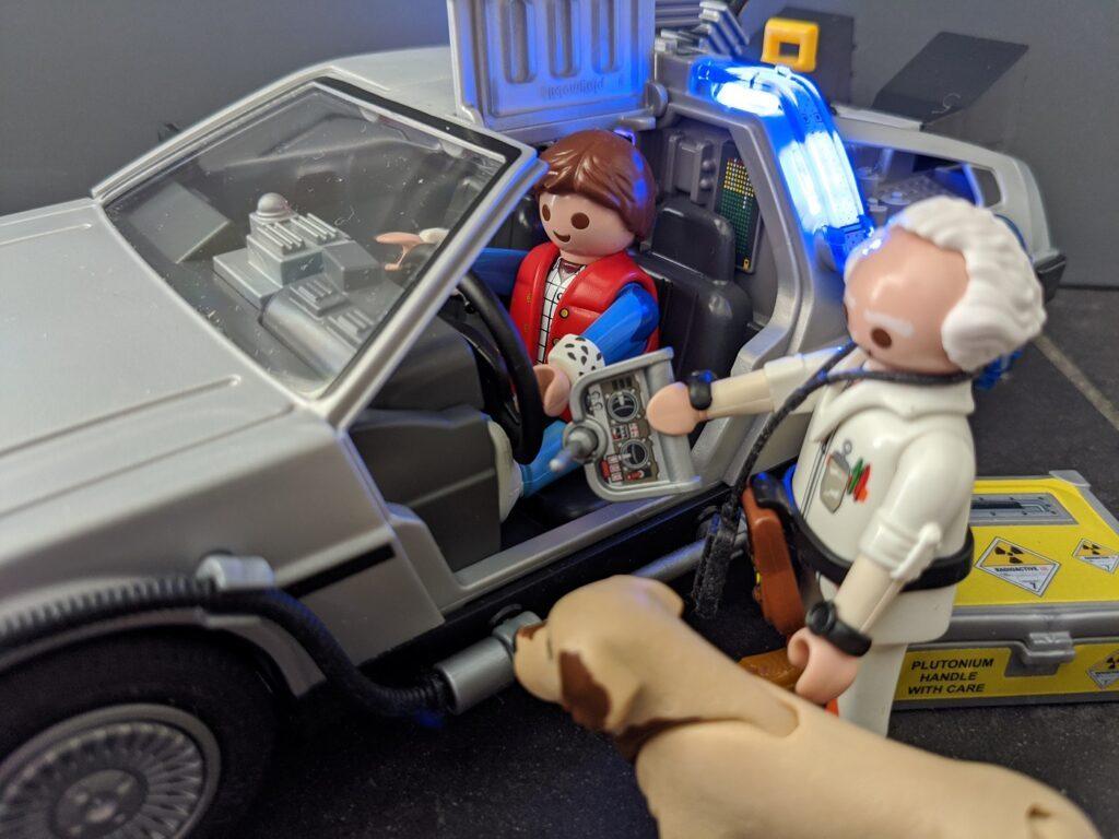 playmobil DeLorean Back to the Future