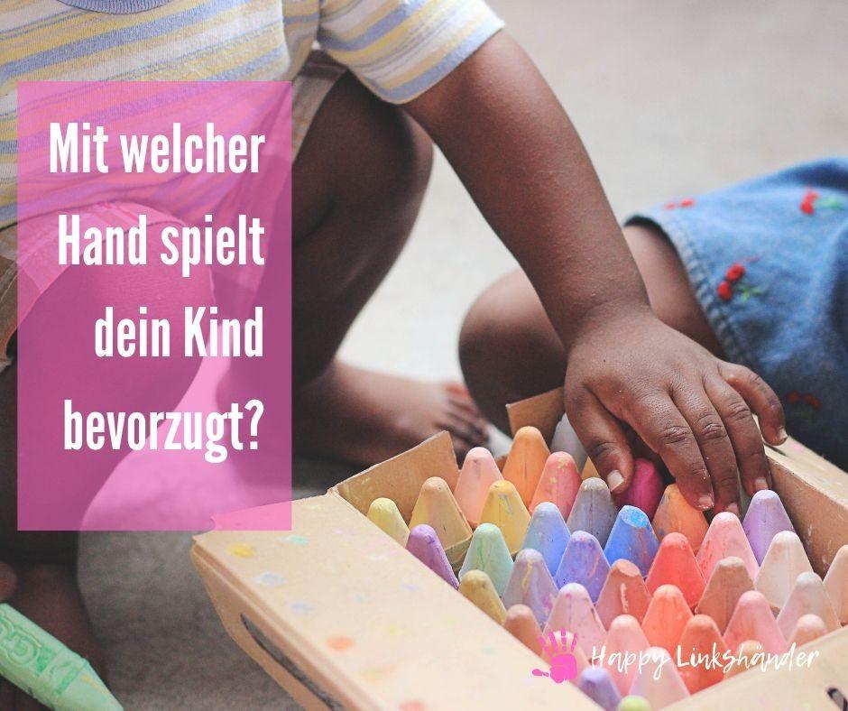 greifen spiel kind 1 Happy Linkshänder