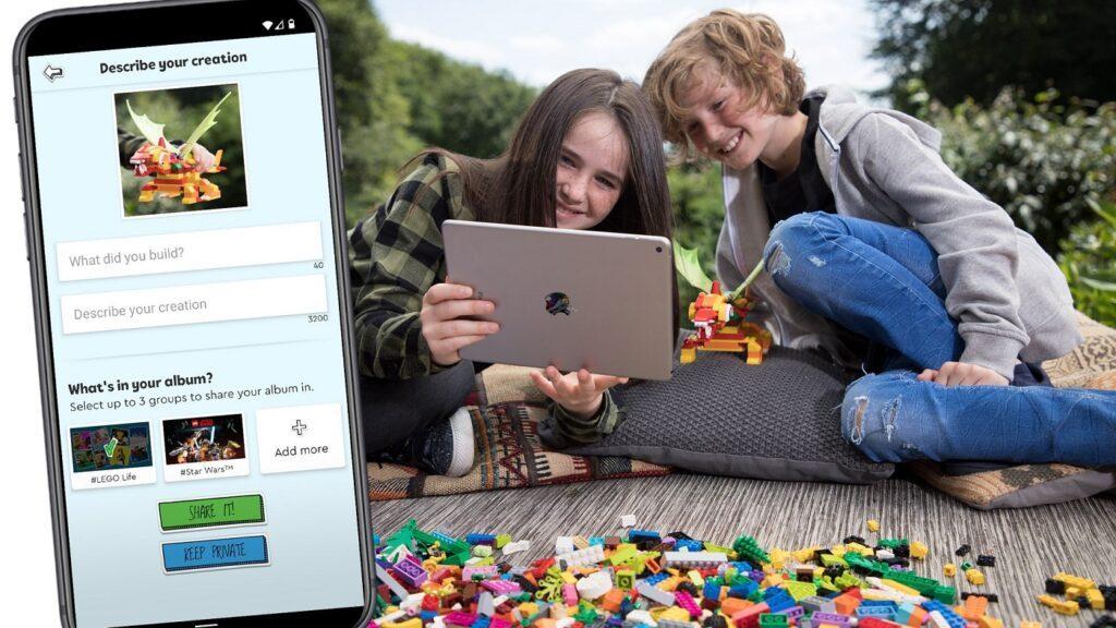 Lego Life App upload