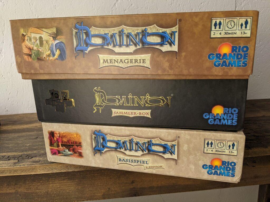Dominion Kartenspiele Erweiterungen