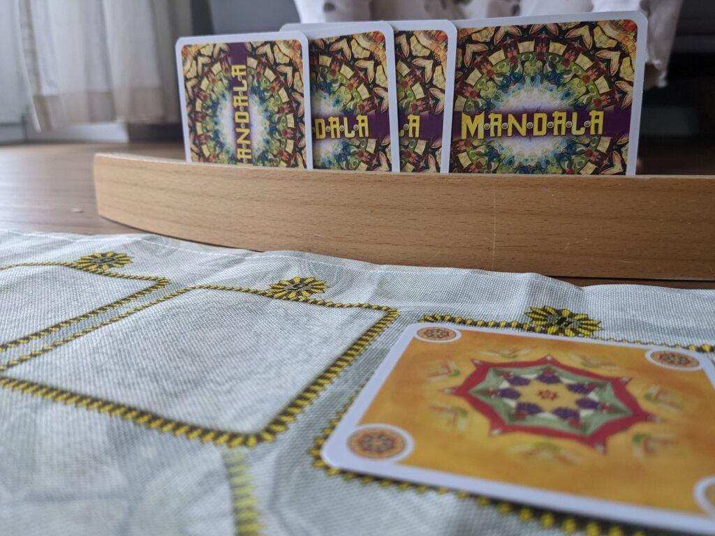 Mandala Spiel fuer Kinder