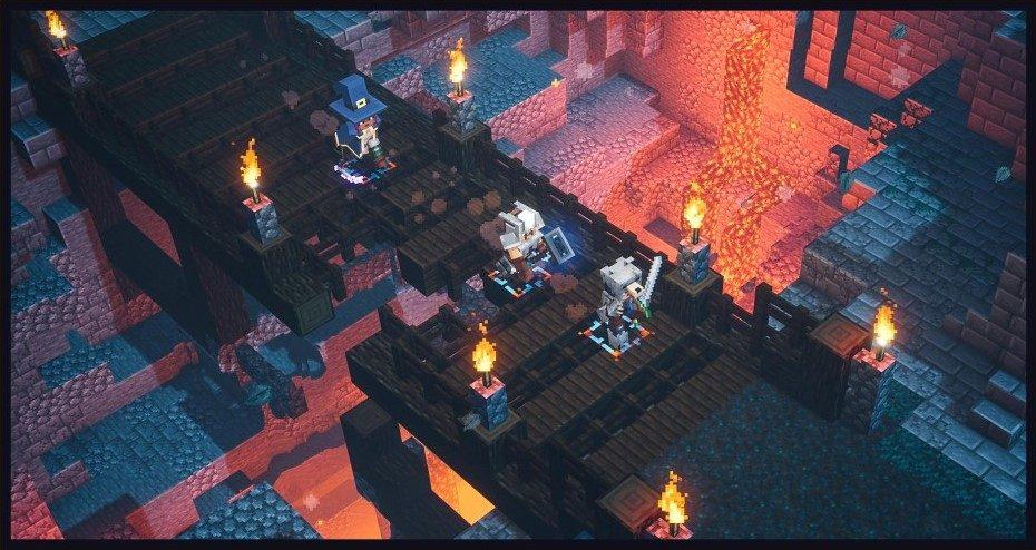 Minecraft Dungeons für die Switch