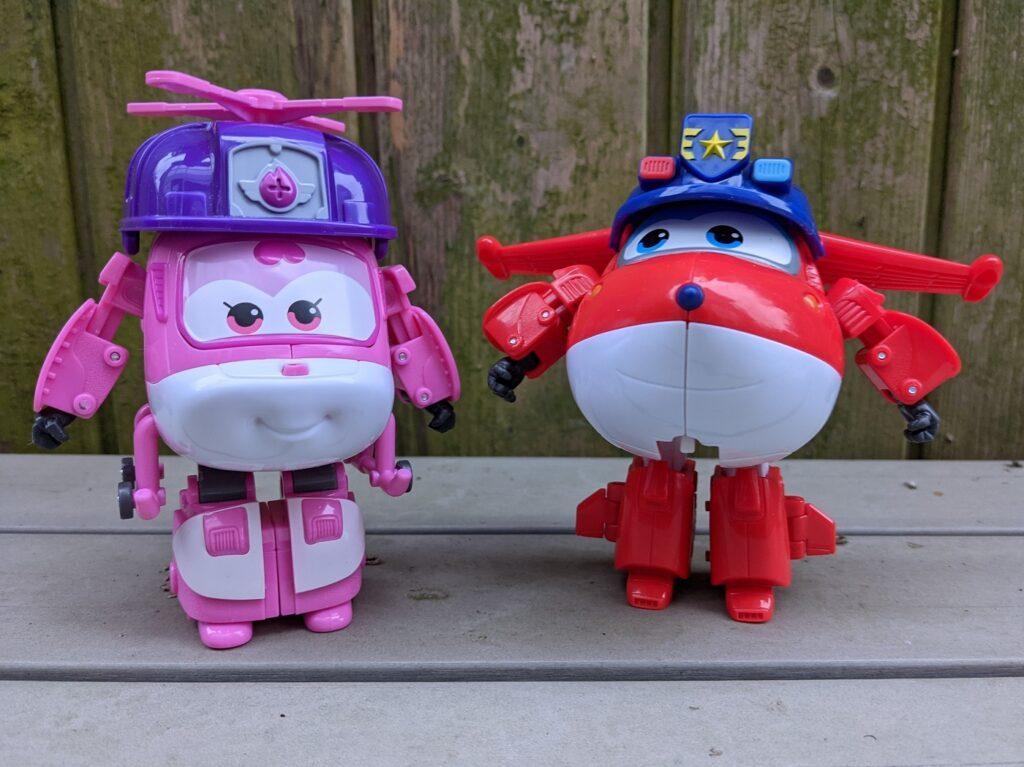 Spielzeug Super Wings Dizzy und Jett