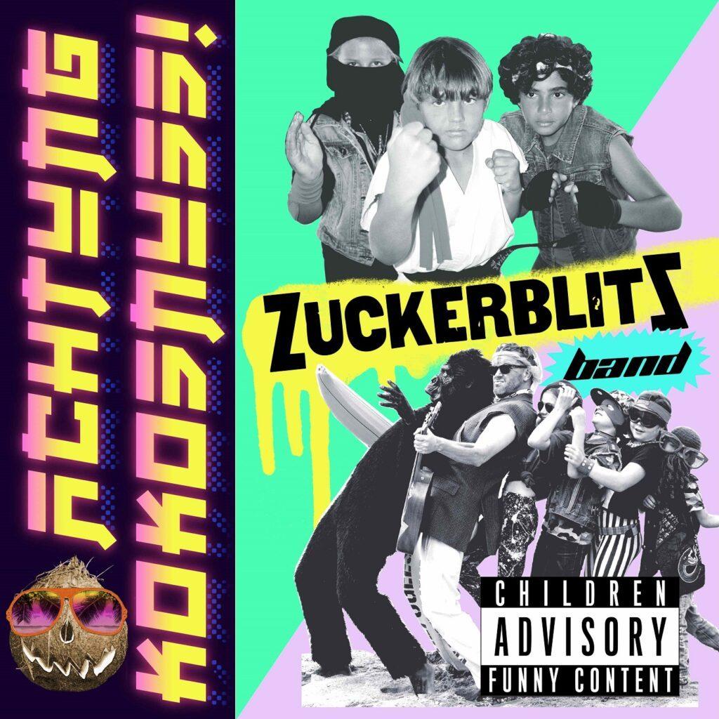 Zuckerblitz Band - Achtung Kokosnuss