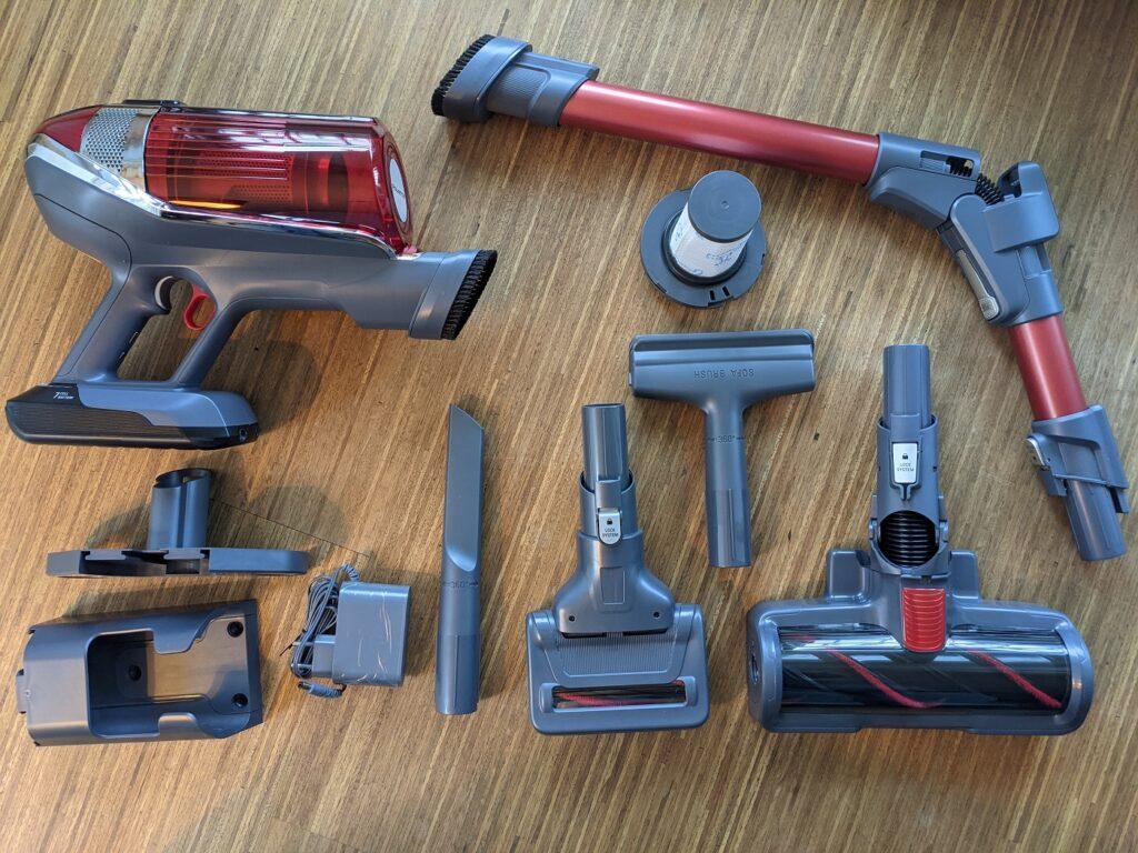 Rowenta X-Force Flex 11.60 Lieferumfang