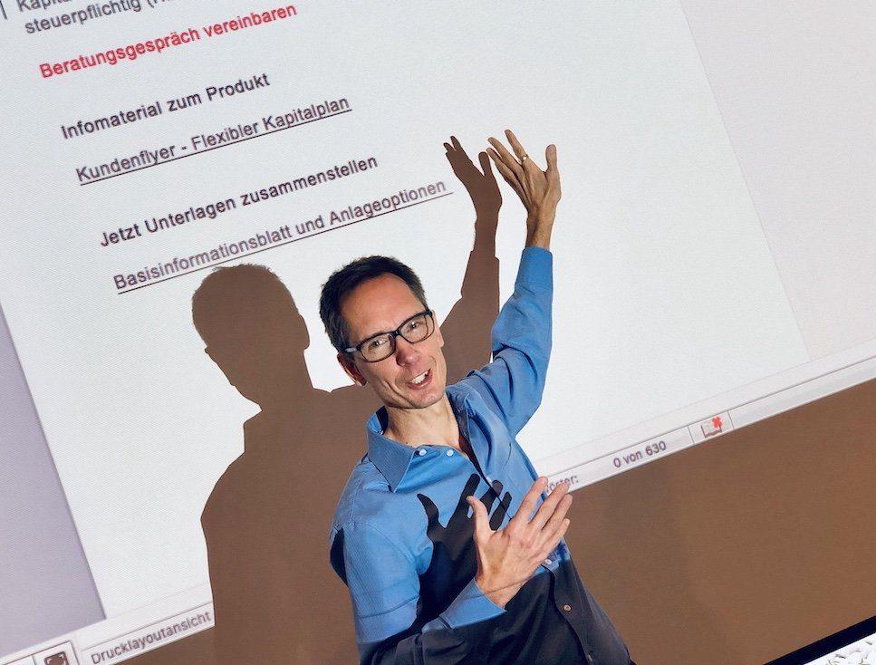 Autor Udo Taubitz gibt auch Seminare