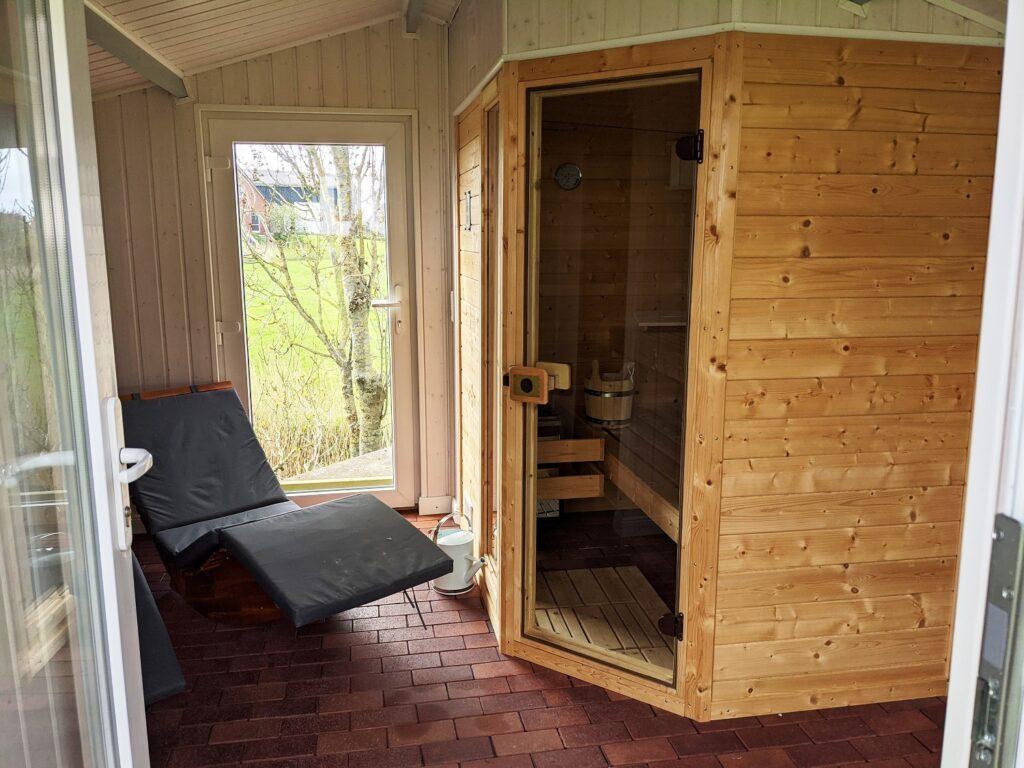 Ferienhaus mit Sauna 1
