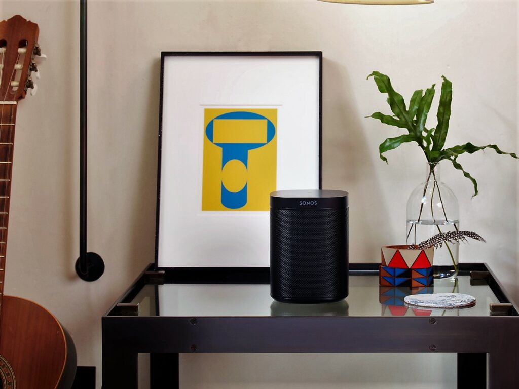 Sonos One mit Sprachsteuerung