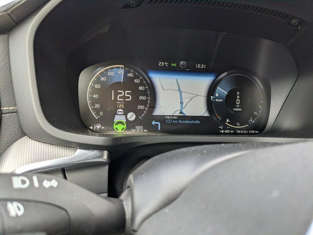 Volvo V60 recharge (2021) Tacho