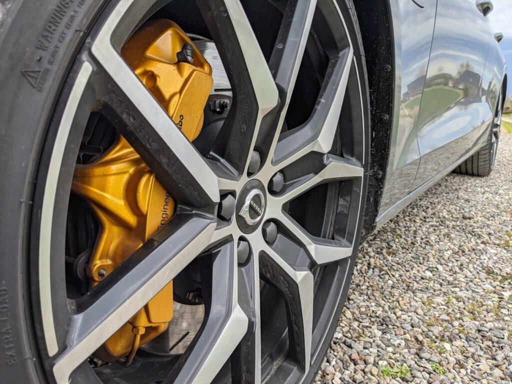 Volvo V60 recharge (2021) Polestar Bremssattel
