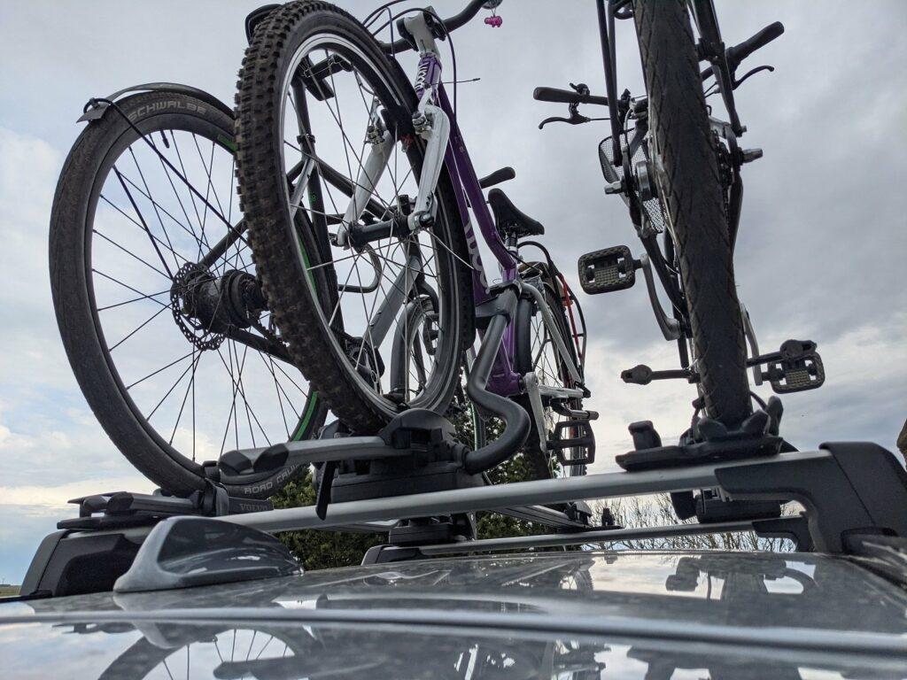 Volvo V60 recharge (2021) Fahrradträger