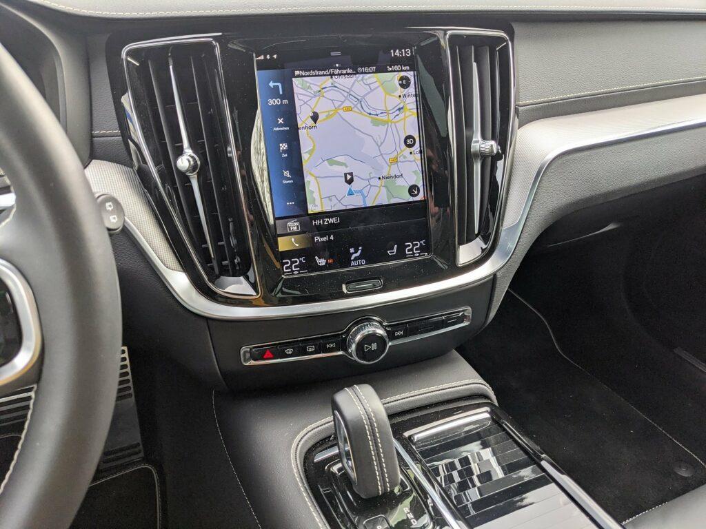Volvo V60 recharge 2021 Mittelkonsole