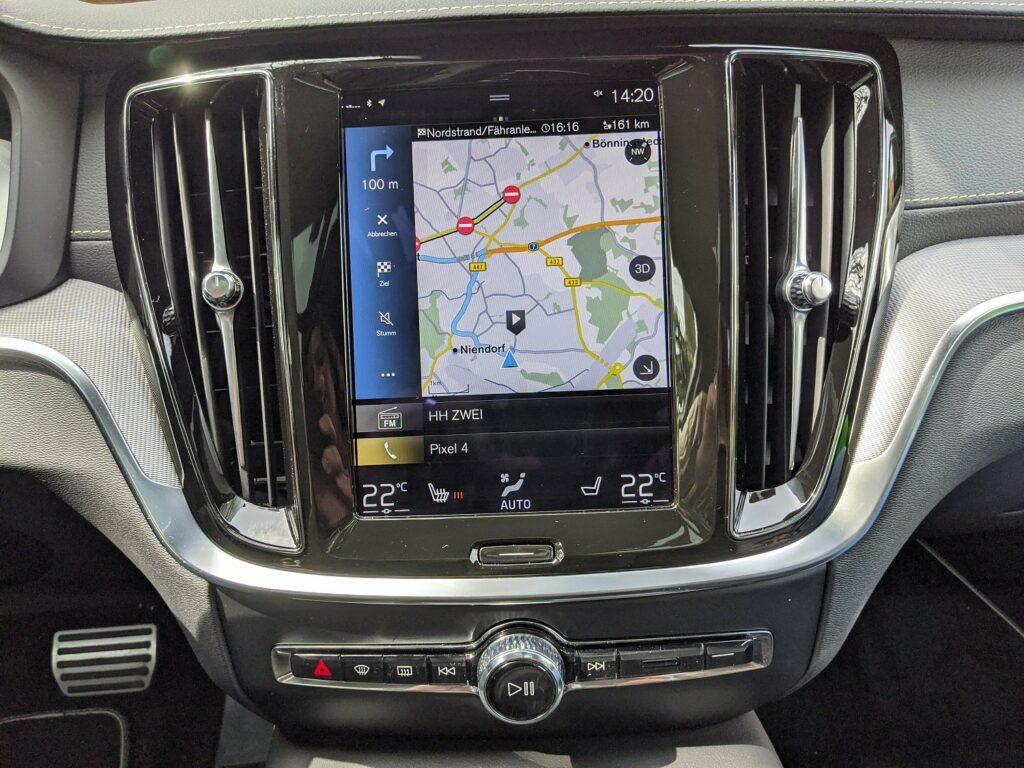 Volvo V60 recharge (2021) Navigation
