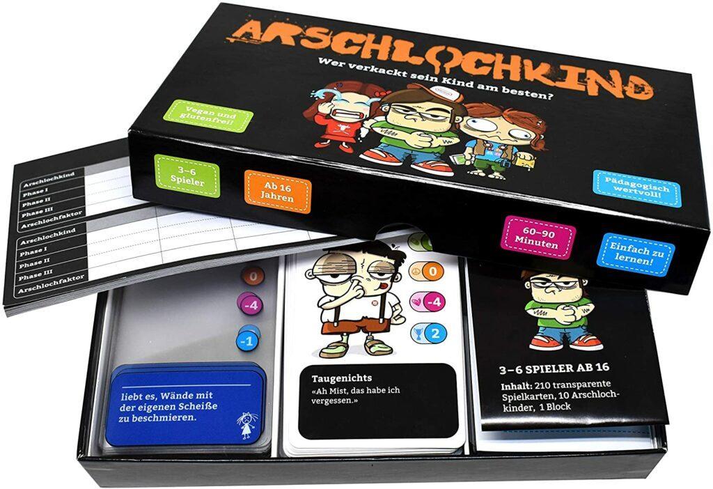 Spieletipp: Arschlochkind - Wer verkackt sein Kind am besten