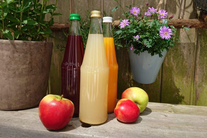 Fruchtsaft gehoert jeden Tag dazu