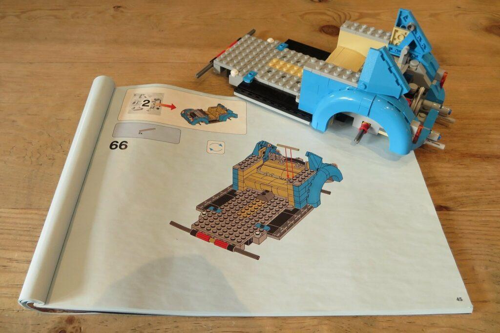 Lego Creator VW Kaefer Anleitung