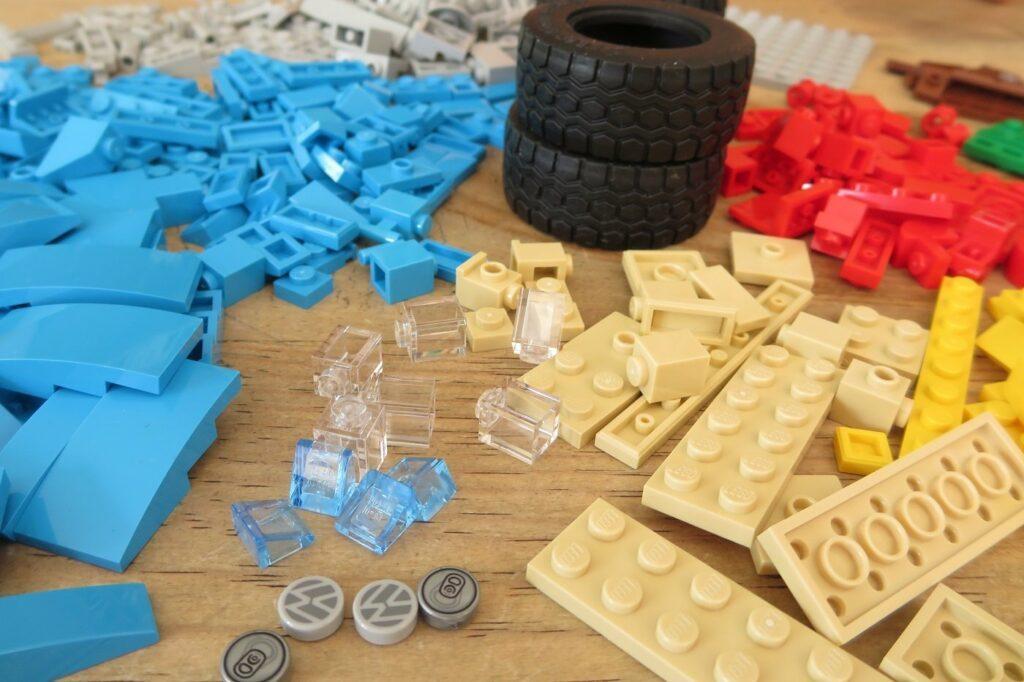 Lego Creator VW Kaefer Teile