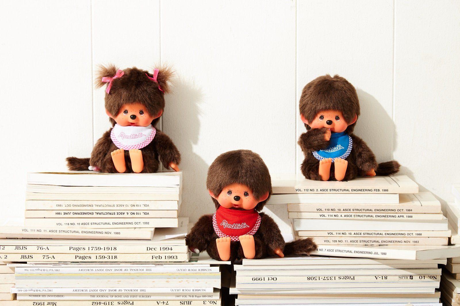 Monchhichi Puppen sind immer noch ein beliebtes Sppielzeug
