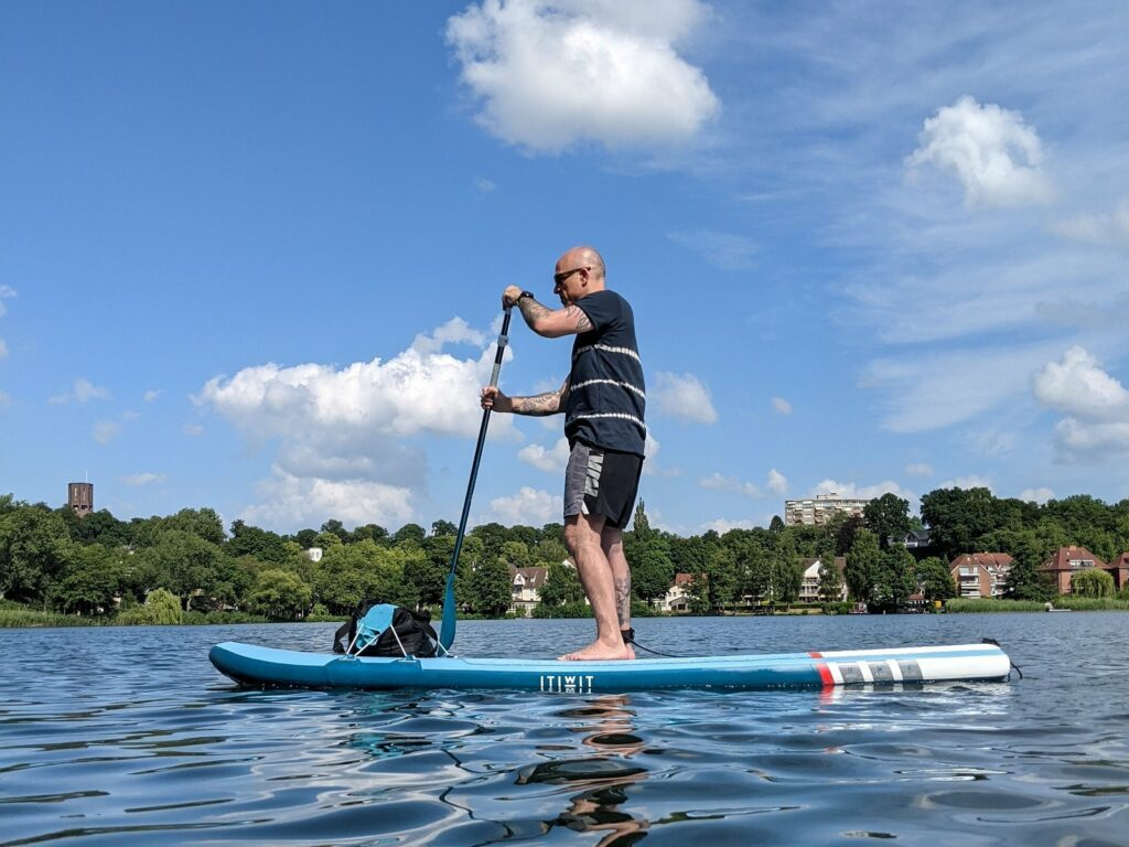 Stand Up Paddle Board Itiwit X100 TOURING