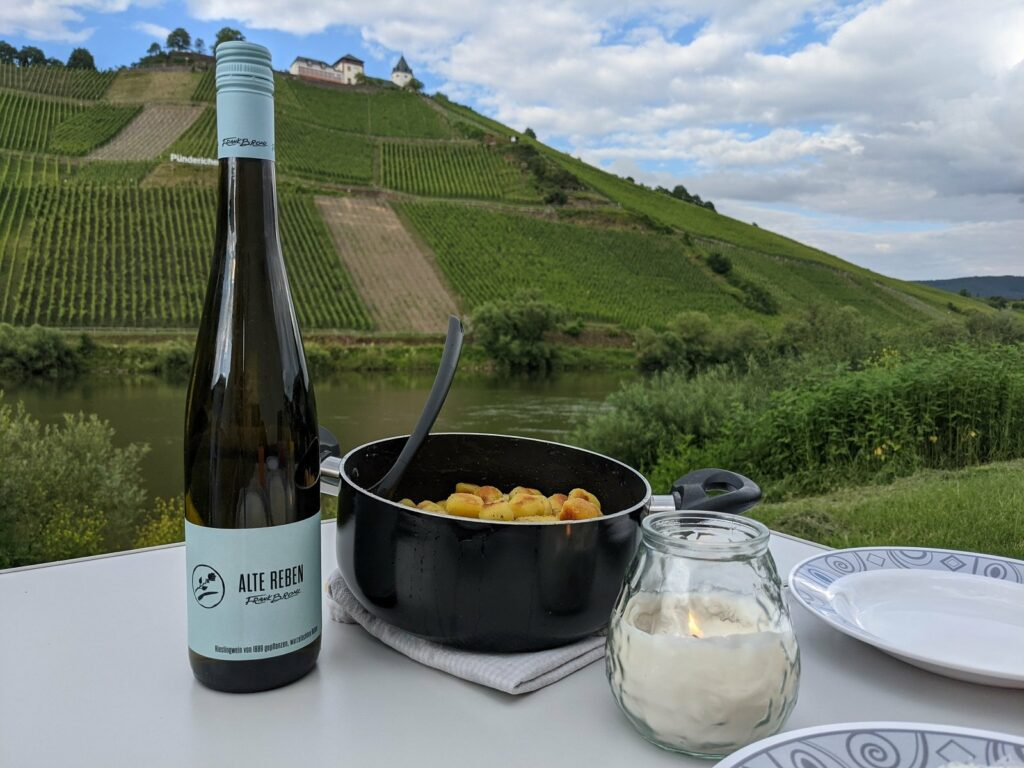 moselcamping puenderich abendessen