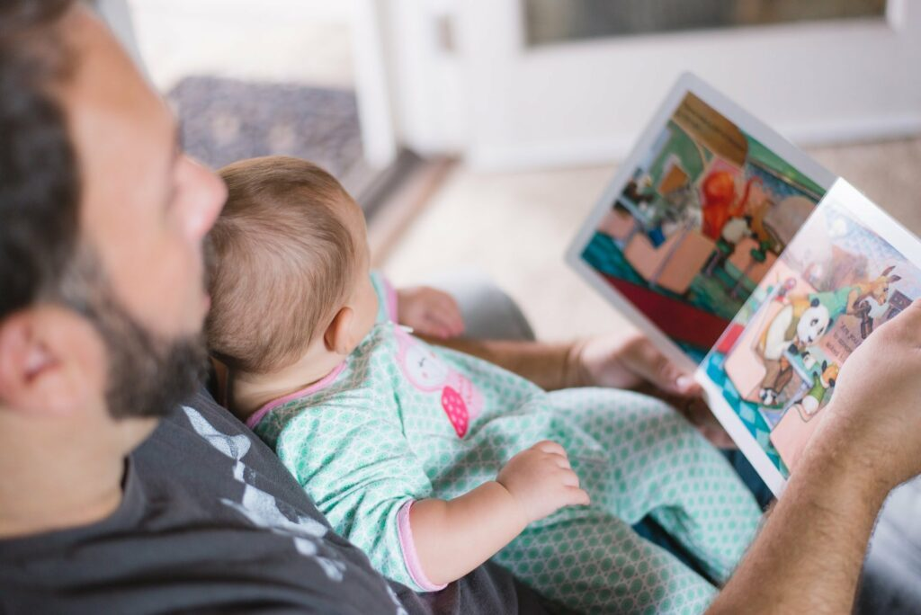 Intensive Zeit mit dem Baby ist für den Vater wichtig. Und für das Kind.