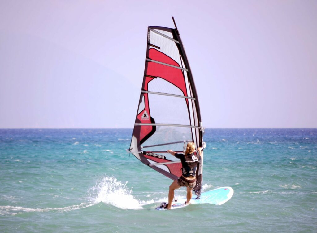 Windsurfen verbindet Generationen, wie unser Gastautor beweist