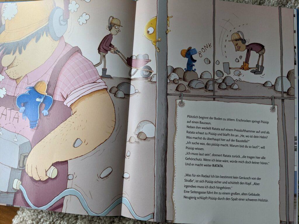 Was macht Püüüp - ein Buch über die Suche nach einem Geräusch