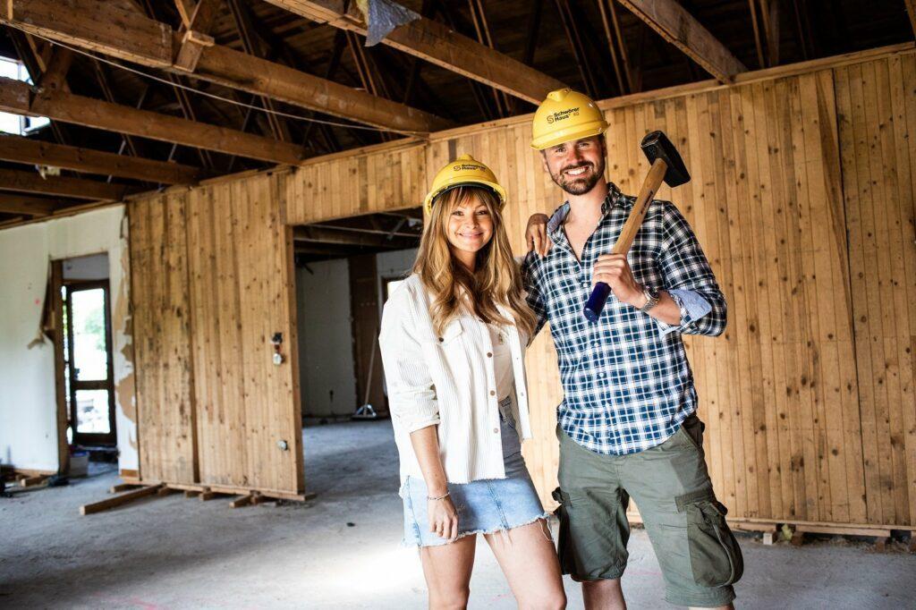 Thore Schölermann und Jana beziehen bald ein neues Haus