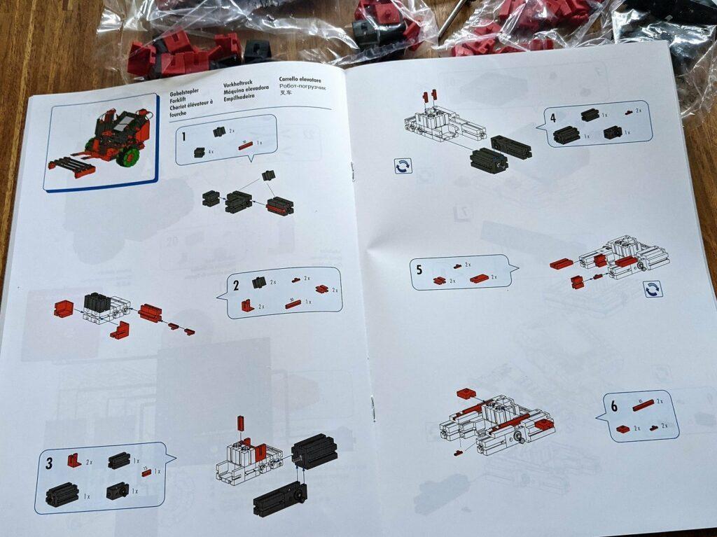 fischertechnik Robotics Smarttech anleitung