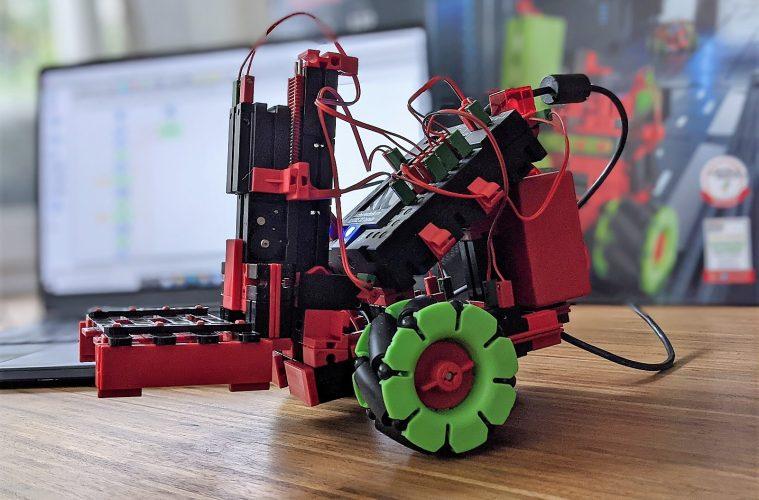 fischertechnik Robotics Smarttech bausatz gabelstapler