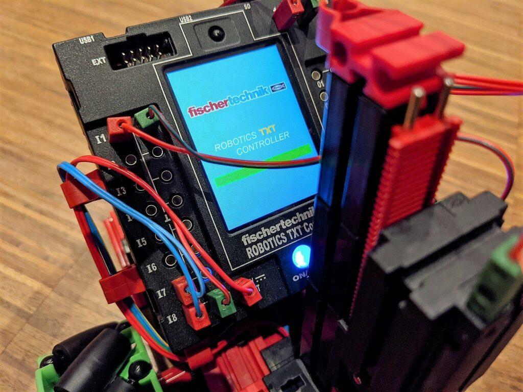 fischertechnik Robotics Smarttech gabelstapler