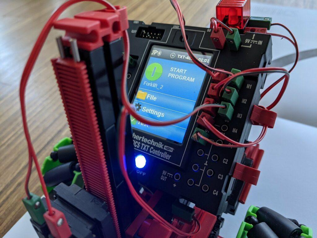 fischertechnik Robotics Smarttech programm