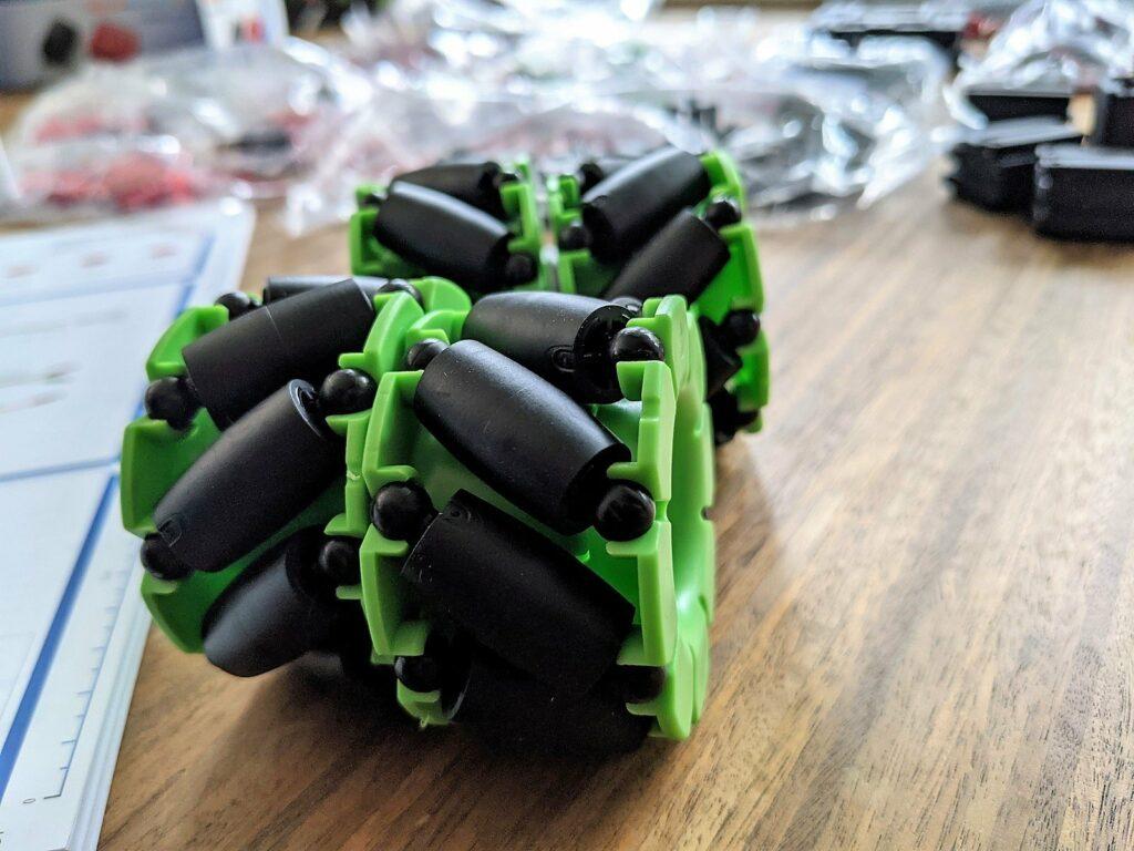 fischertechnik Robotics Smarttech raeder