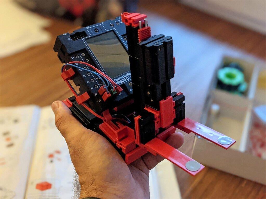 fischertechnik Robotics Smarttech zusammenbau