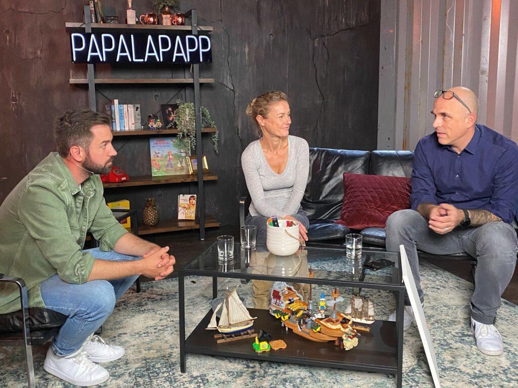 Zu Besuch beim Papalapapp Podcast