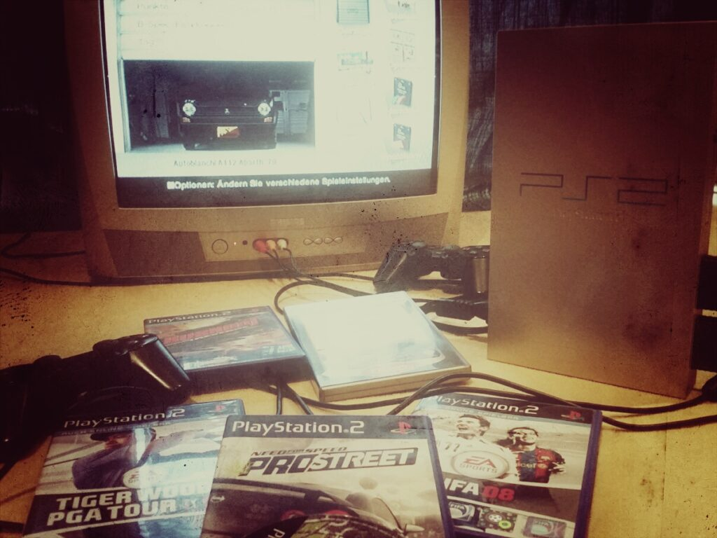 Spielspaß mit der Playstation 2