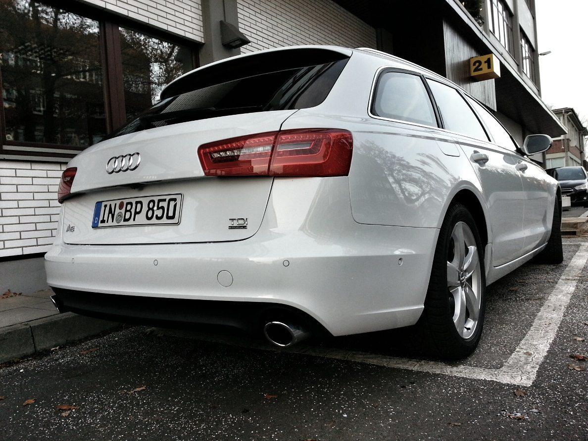 Audi A6 Avant 3.0 TDI quattro Heck