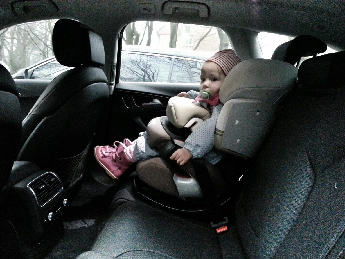 Audi A6 Avant 3.0 TDI quattro Kindersitz