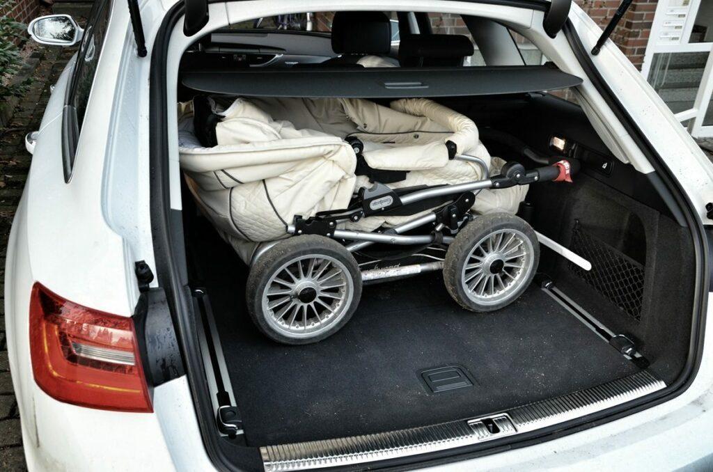 Audi A6 Avant 3.0 TDI quattro (2013) Kofferraum