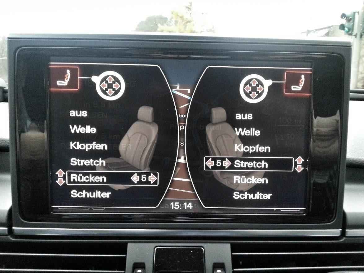 Audi A6 Avant 3.0 TDI quattro Massagesitze