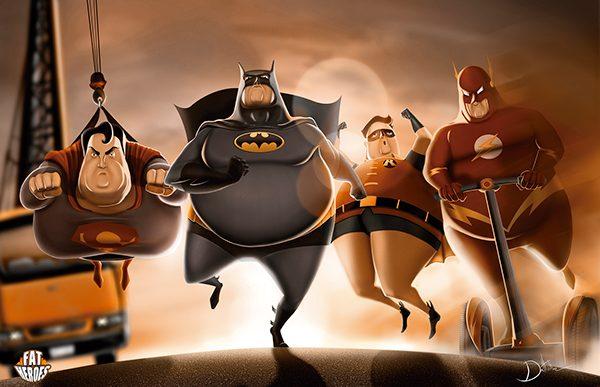 Fette Superhelden