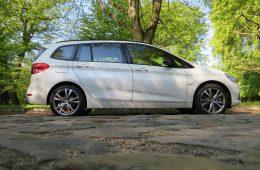 BMW 2er Gran Tourer Seitenansicht