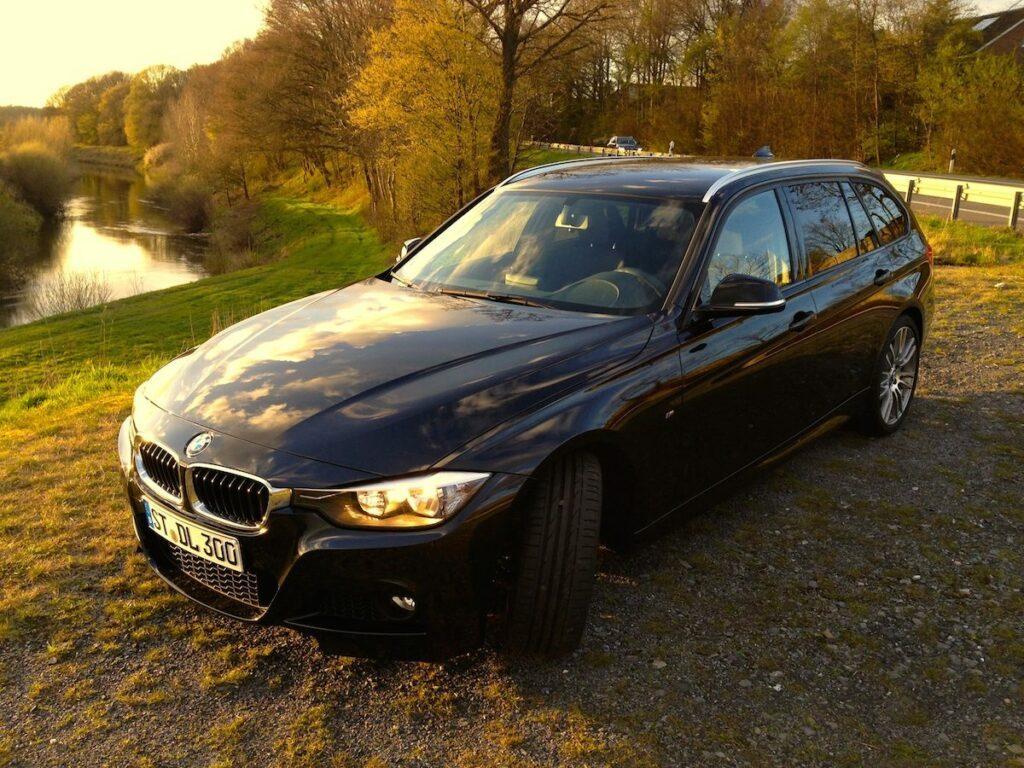BMW 320d Touring (2014) Seitenansicht