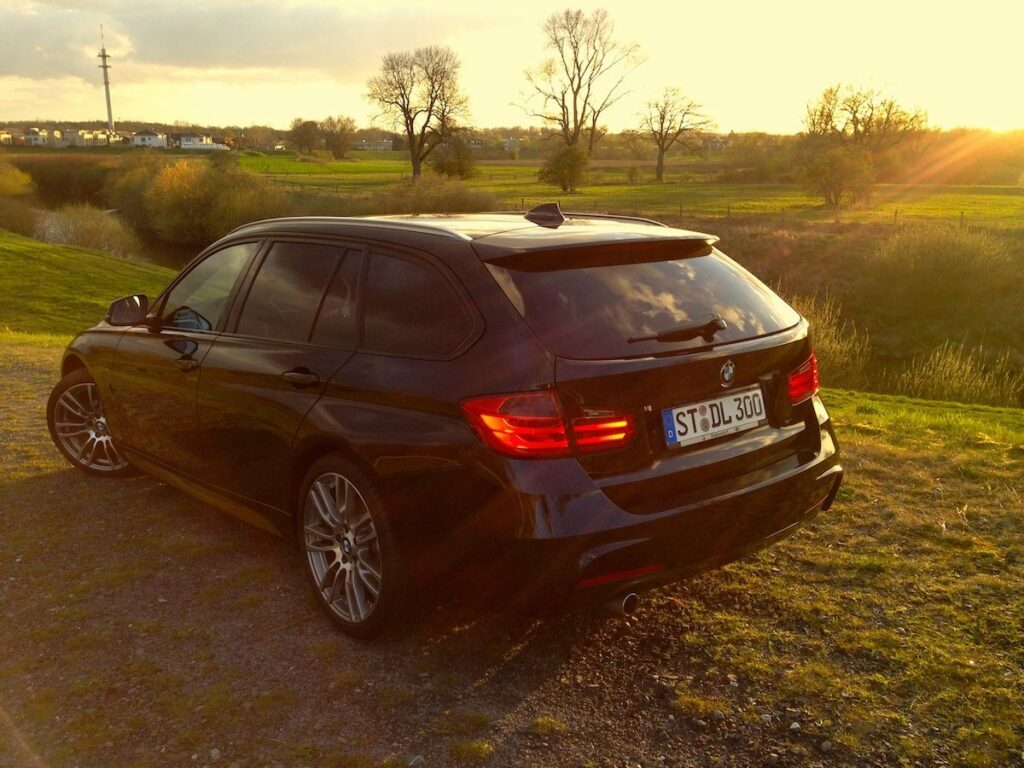 BMW 320d Touring (2014) Heck