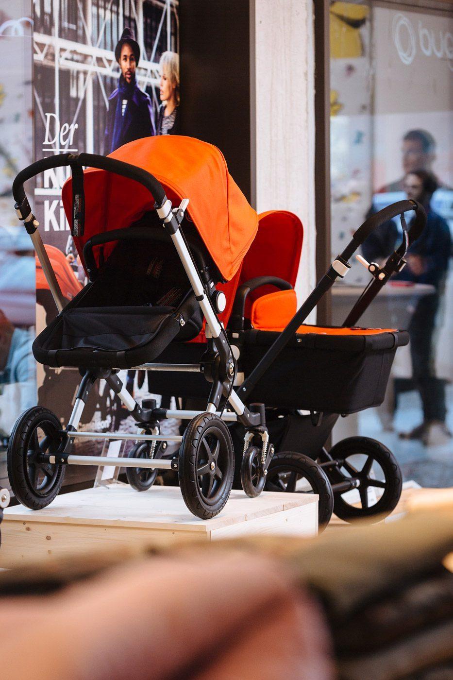 Im des Bugaboo Store Berlin gibt's die schönsten Kinderwagen des Premium-Herstellers
