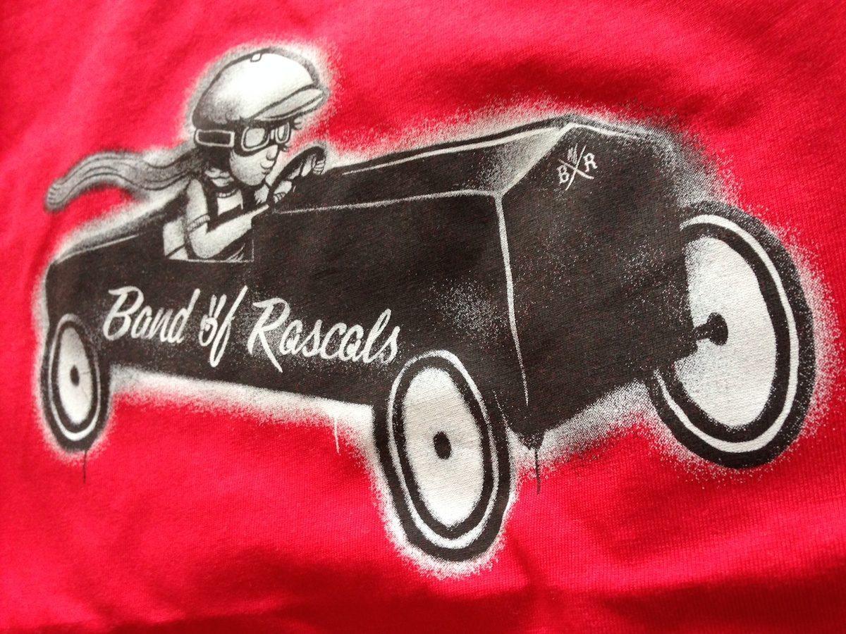 Band of Rascals Seifenkiste